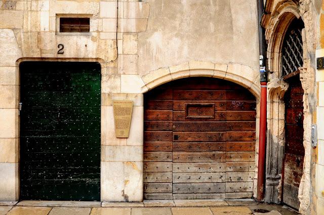 les traboules lyon façades