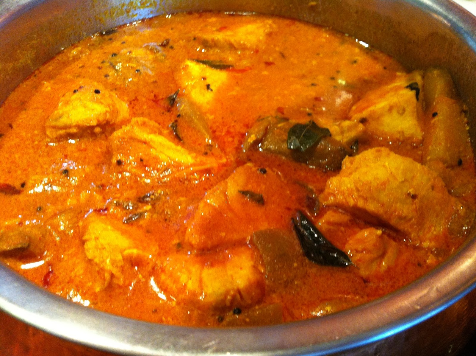 curry fish head goan fish curry indian fish coconut curry steamy ...