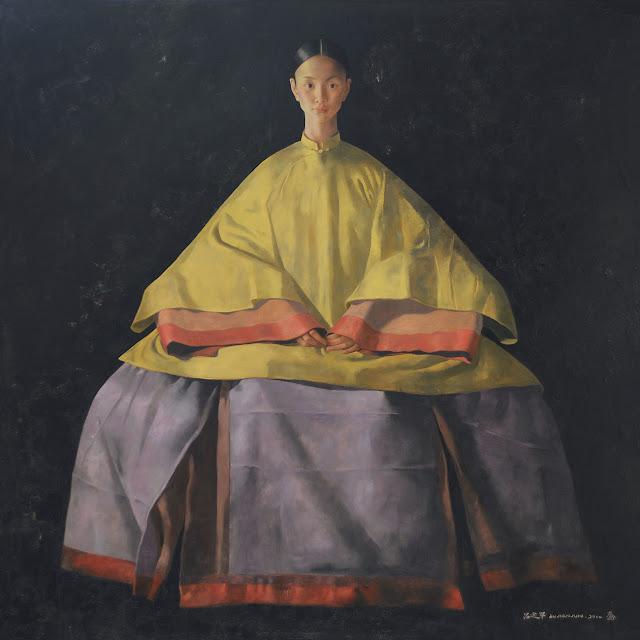 Lu jian jun artiste peintre chinois de g nie la for Artiste peintre chinois