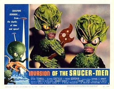 Invasion Of The Saucer Men (La invasión de los hombres del Espacio)( 1957)