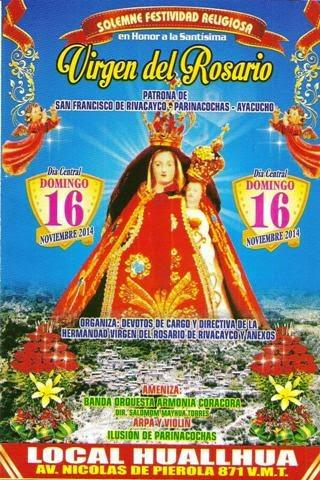 Virgen del Rosario de Rivacayco
