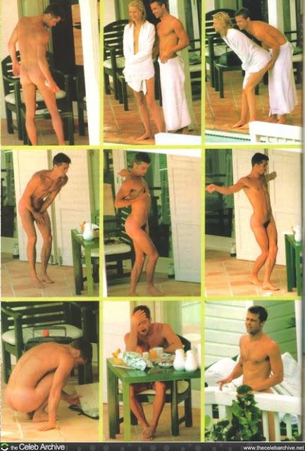famosos desnudos brad pitt desnudo
