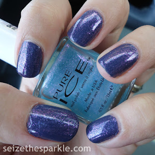 Pure Ice Iris & China Glaze History of the World
