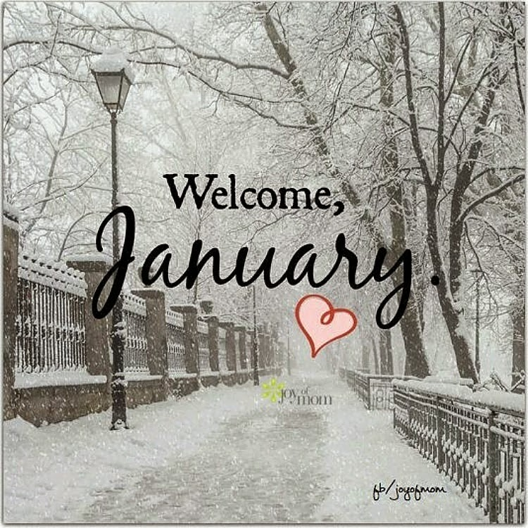 Welcome january pictures