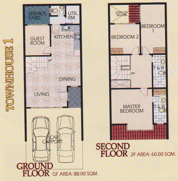 2 Storey Town House 1 Philippines Homes For Sale
