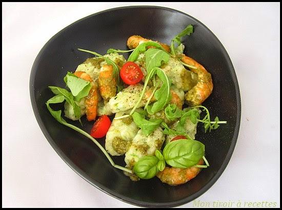 gnocchi de courgettes