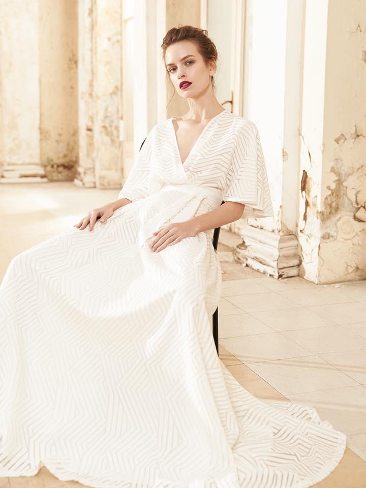 Μαξι φορεμα νυφικο