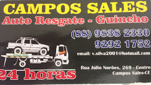 CAMPOS SALES AUTO RESGATE-GUINCHO - 24 HORAS!