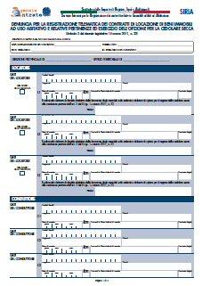 Vinboisoft blog aggiornamento software siria 2 0 7 for Contratto cedolare secca modello