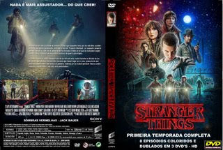 STRANGER THINGS - PRIMEIRA TEMPORADA COMPLETA