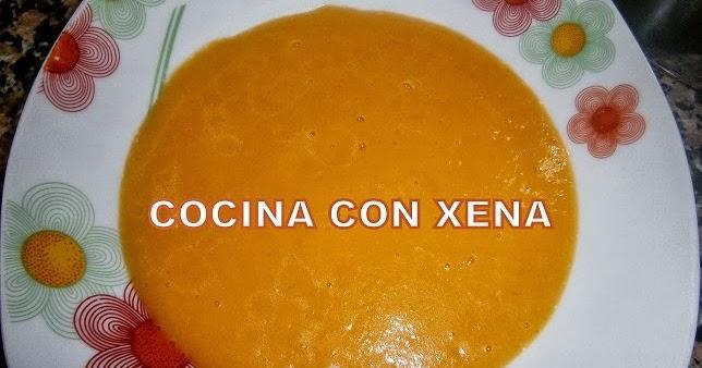 Cocina con xena crema de calabaza en gm d for Cocina con xena olla gm d