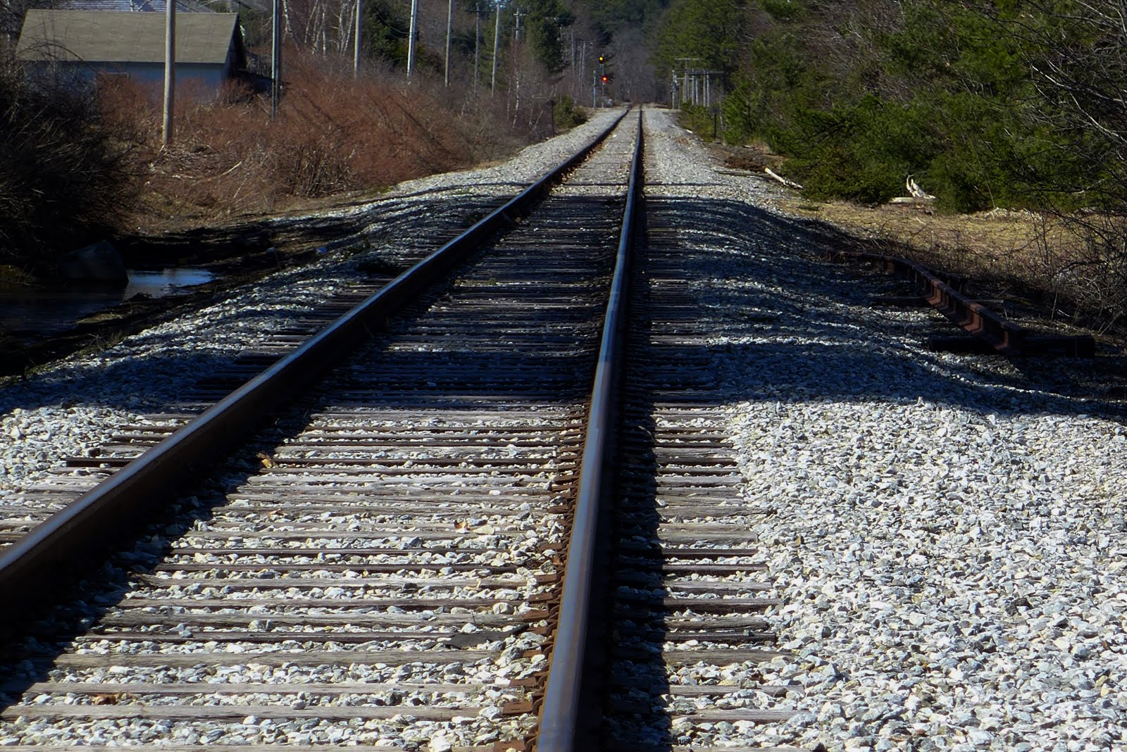 Brunswick, Maine Railroad Tracks