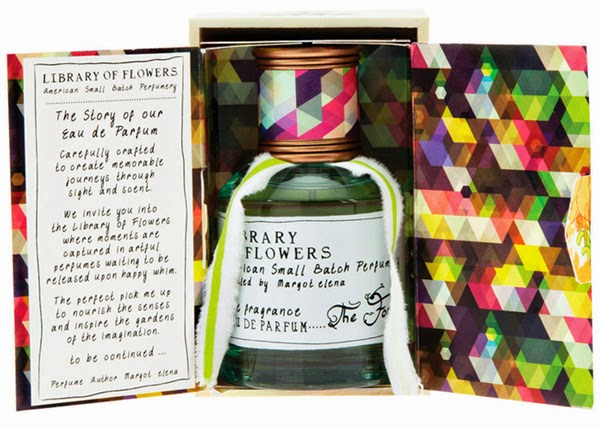 Beautiful Packaging Design from the Library of Flowers