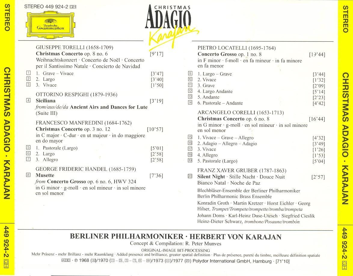 adagio albinoni karajan mp3 download