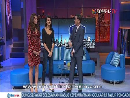 Frekuensi siaran Kompas TV di satelit Palapa D Terbaru