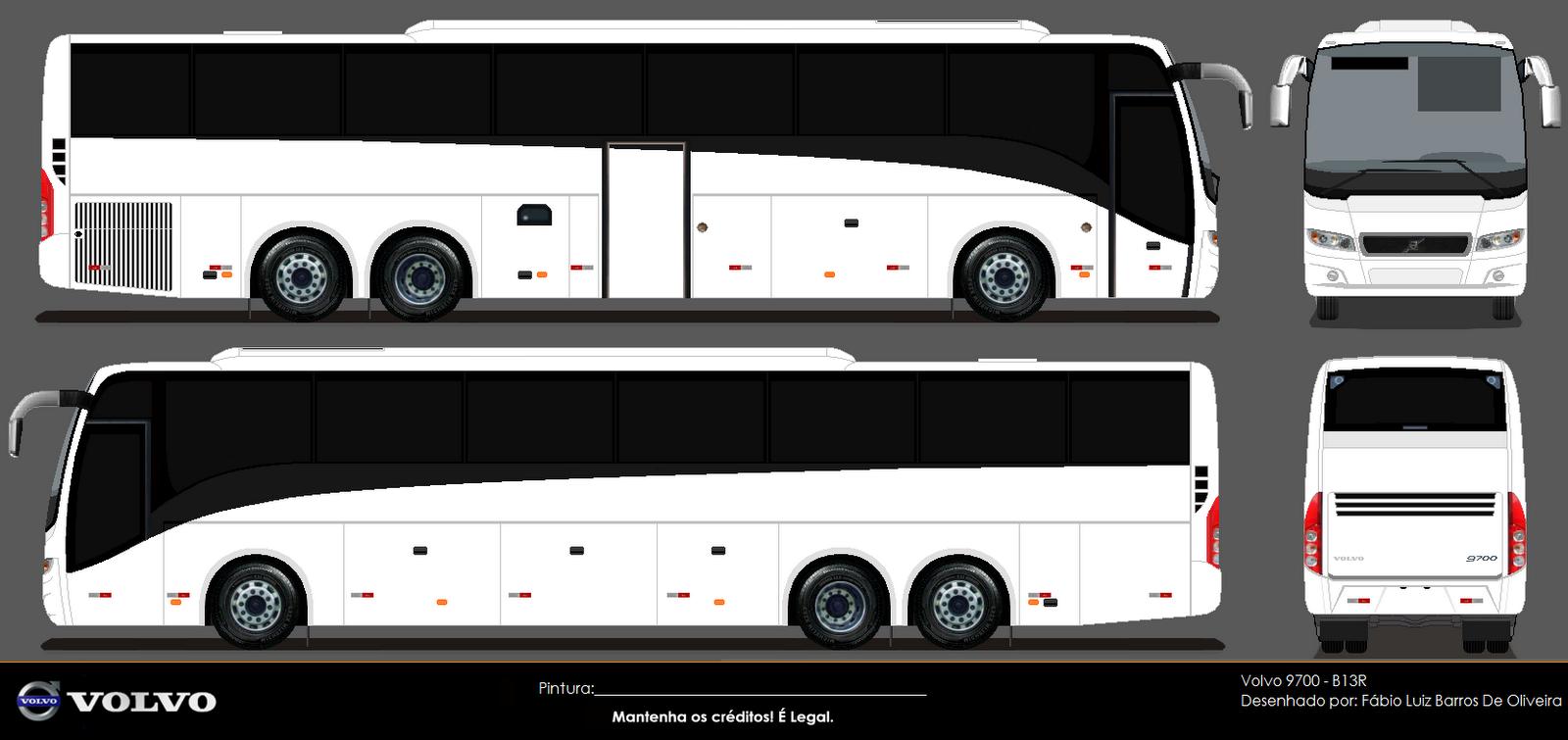 Desenhos De Onibus Digital: Volvo