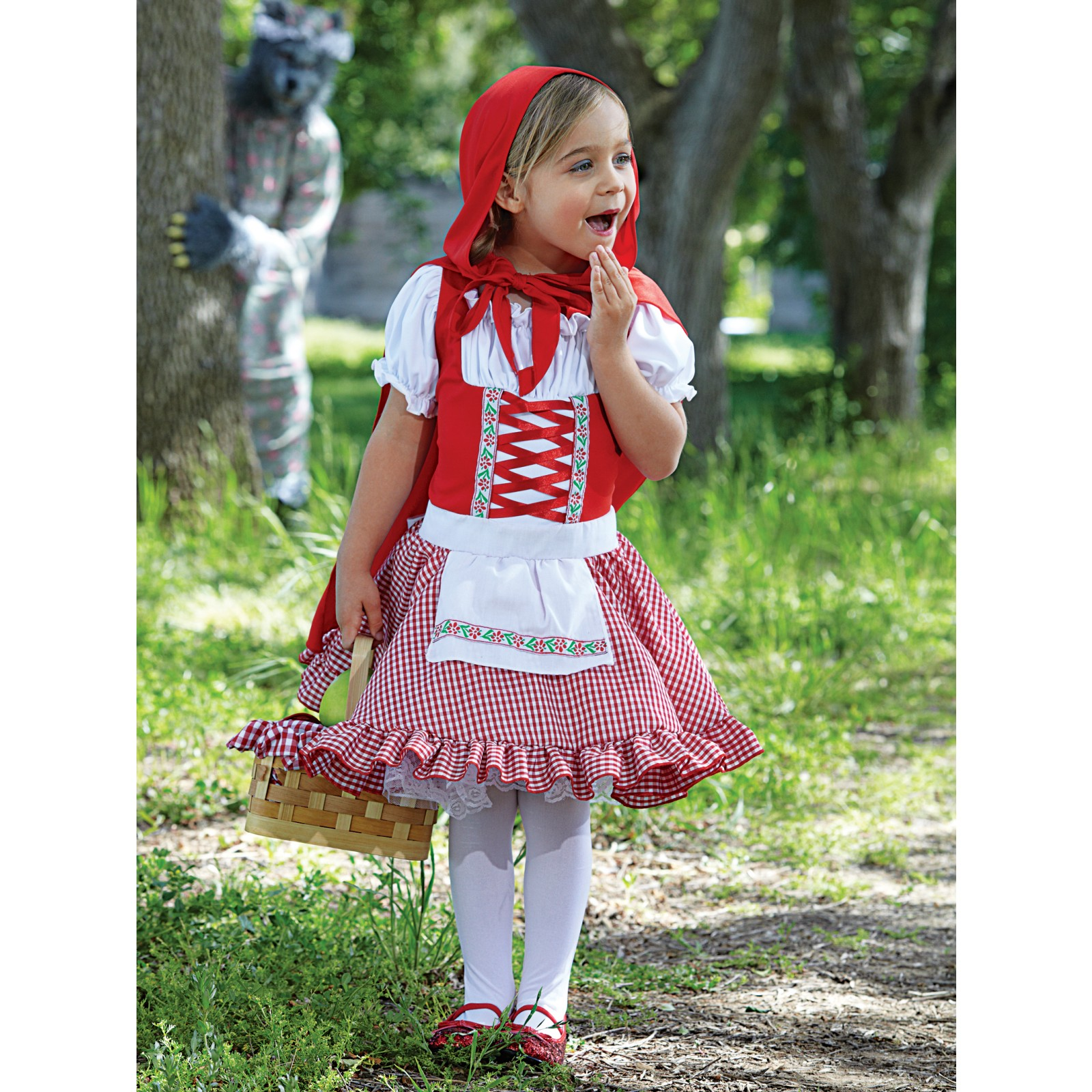 de todo un poco toddler red riding hood cape