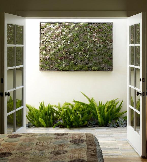 ideias para um jardim lindoFotos de um lindo painel de jardim