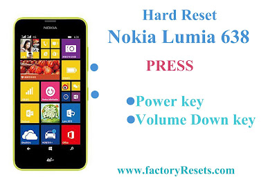Hard Reset Nokia Lumia 638