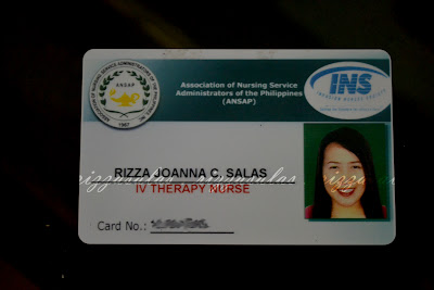 IVT Training (IV Therapy card) (c) Rizza Salas