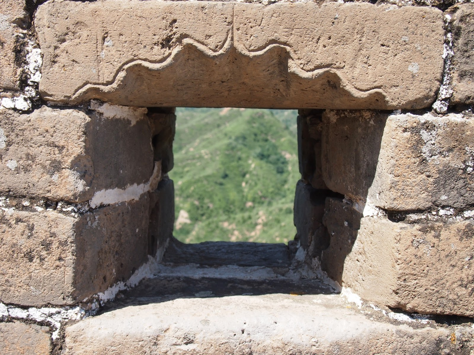 a defense window in the great wall