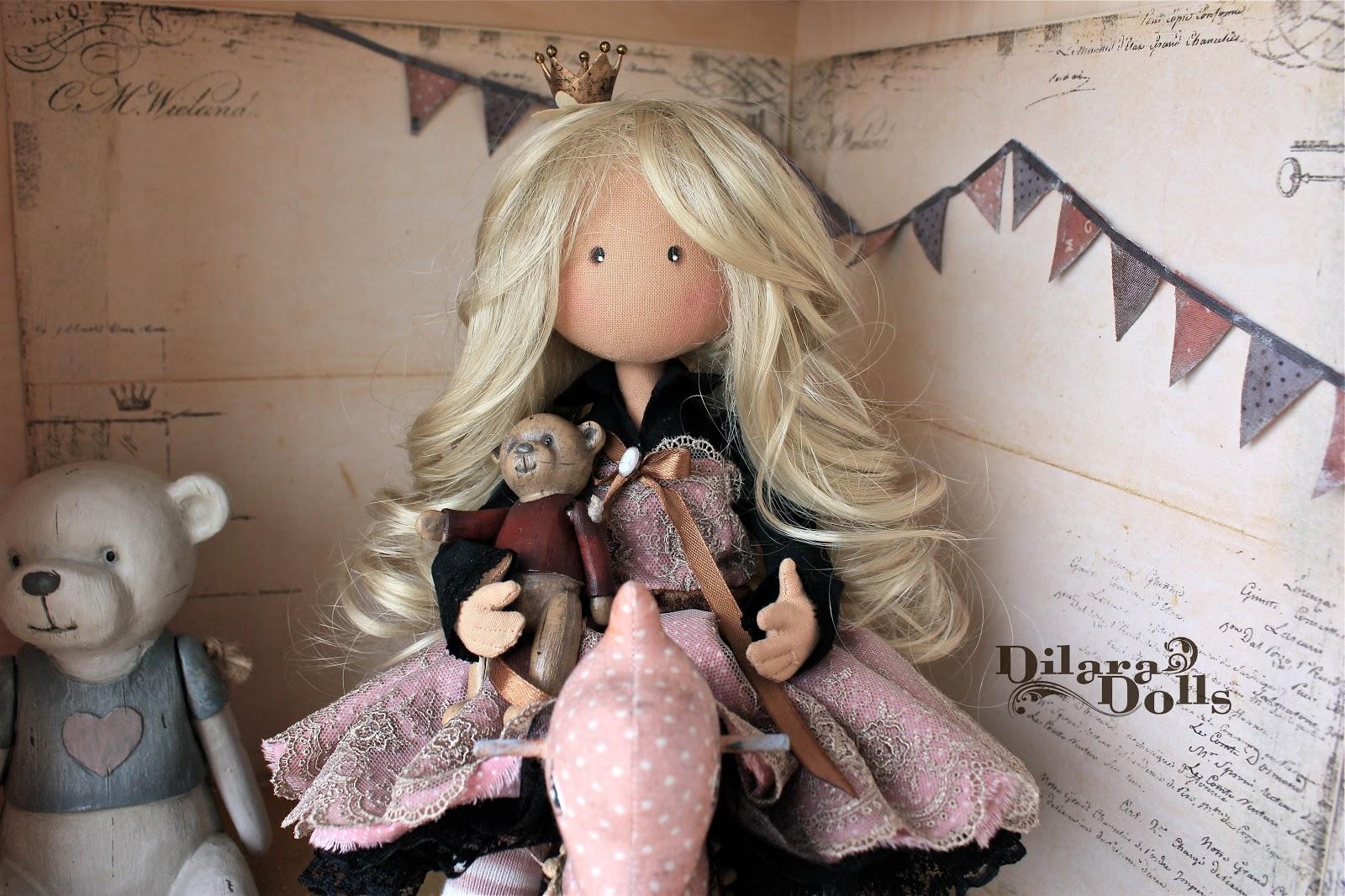 Сшить винтажную куклу