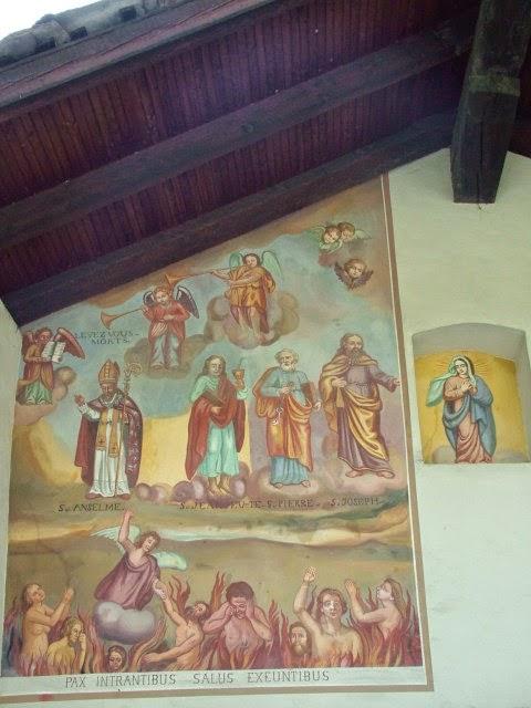particolare cappella Ussin