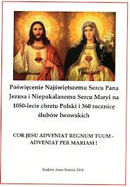 1050 lecie chrztu Polski i 340 rocznica ślubów lwowskich (broszura)