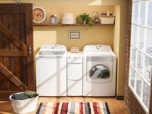 Fotos de lavander as ideas para decorar dise ar y for Muebles para lavanderia de casa