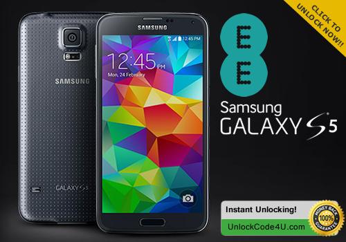 Factory Unlock Code for Samsung Galaxy S5