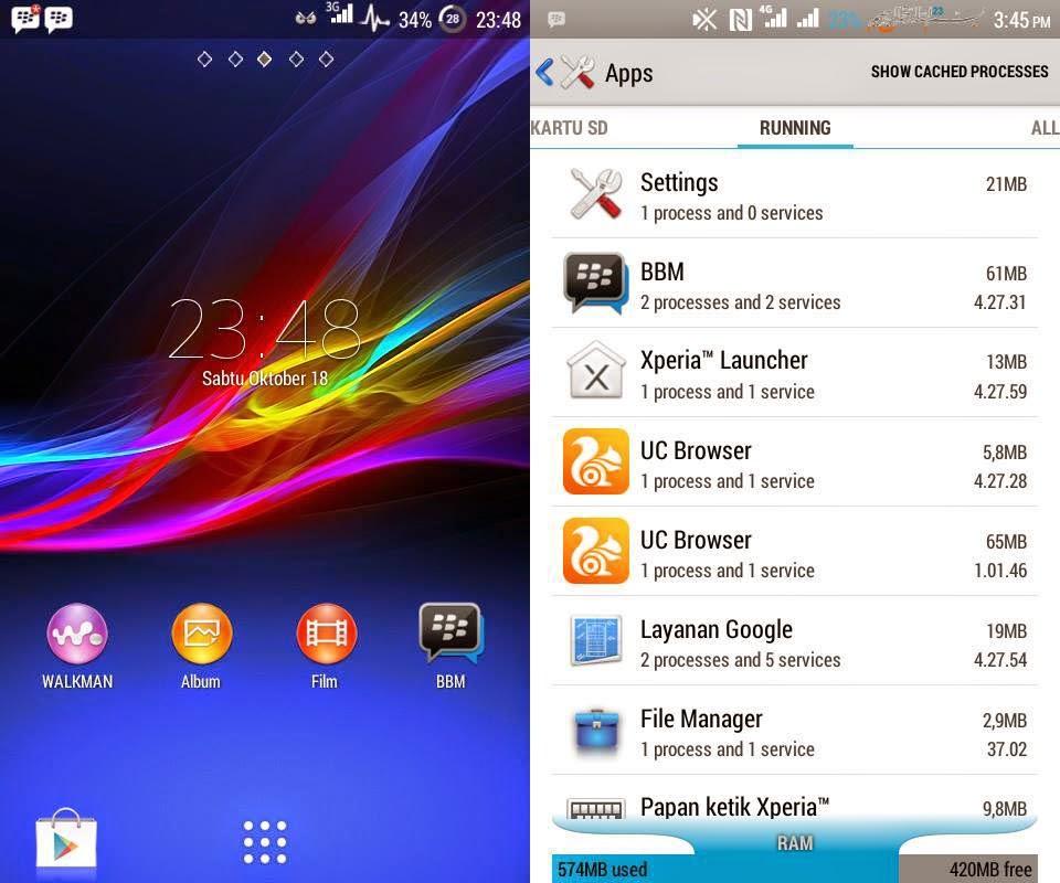 Membuat Lenovo A316i Menjadi Sony Xperia ZR | ROM Terbaru!