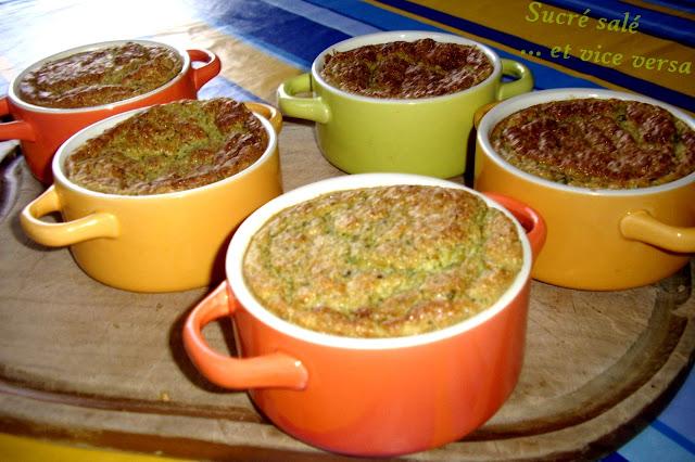 Le plat de mon repas entre amis souffl de courgettes for Plat nouvel an entre amis