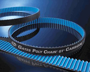 Poly Chain GT Carbon belts are quite resistant to water soaking, and have even been used successfully in submerged applications.