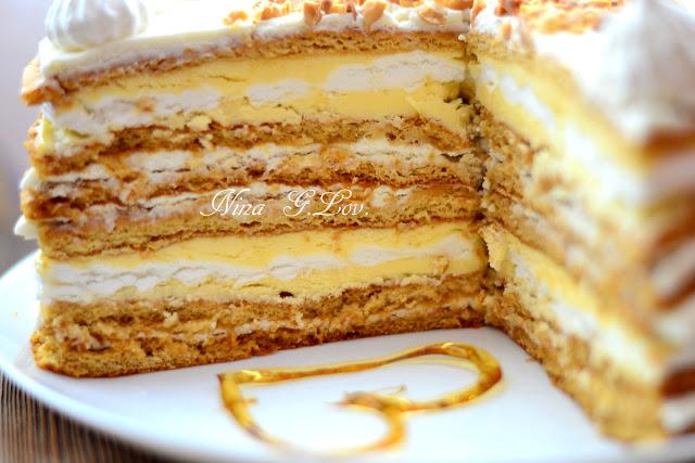 Полет шмеля торт рецепт