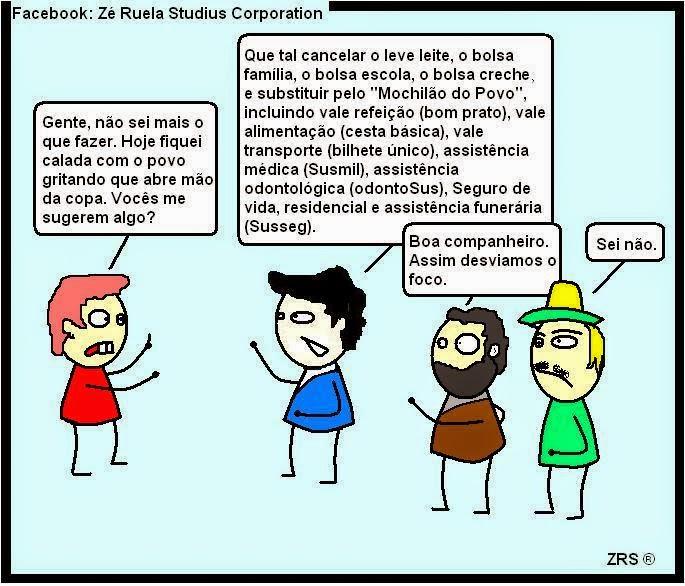 Coisas da Dilma.