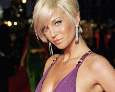 Pop Singer Sarah Harding Sexy Wallpaper