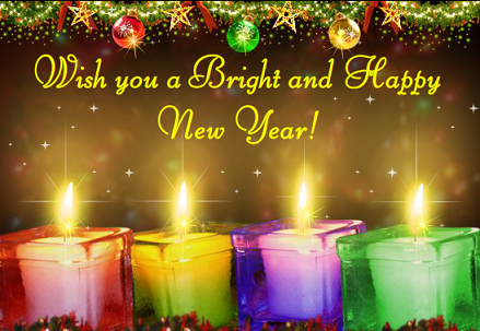 2016 HD Happy new year wallpapers candle