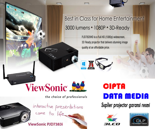 Jual proyektor viewsonic murah