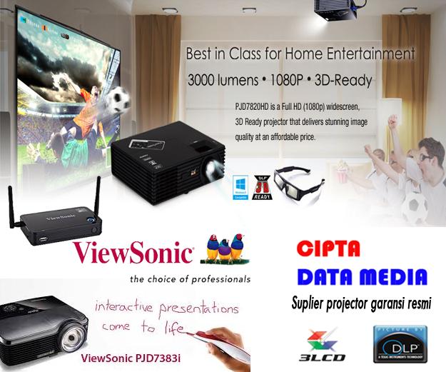 Jual proyektor viewsonic murah