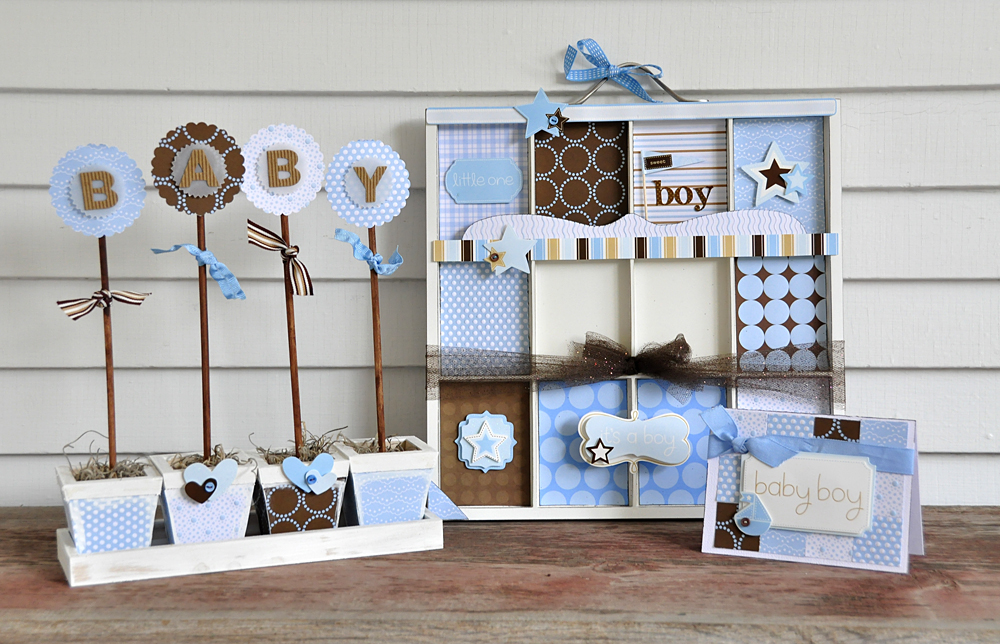 Baby showers decorations for boys best baby decoration for Baby shower decoration kits boy