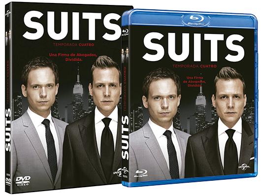 A la venta la cuarta temporada de 'Suits' en DVD y Blu-ray y el pack con la serie completa