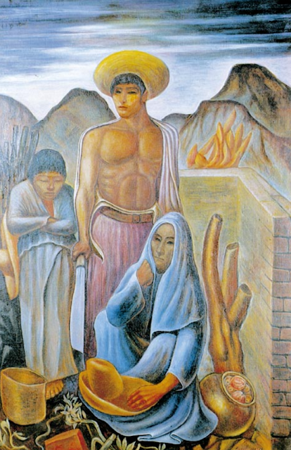 Tito Canepa. Familia Campesina. 1939