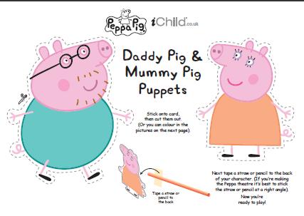 Disegni da colorare lavorett e giochi in inglese stampa for Peppa pig da stampare