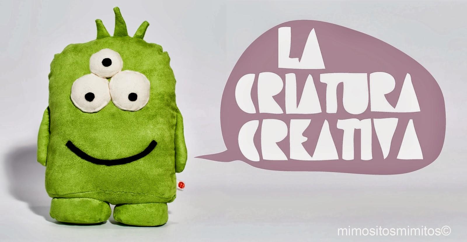 La Criatura creativa muñeco personalizado de tela hecho a mano handmade