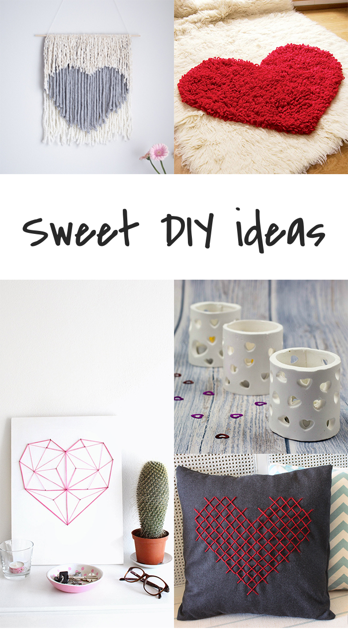 5 DIY to try # Heart