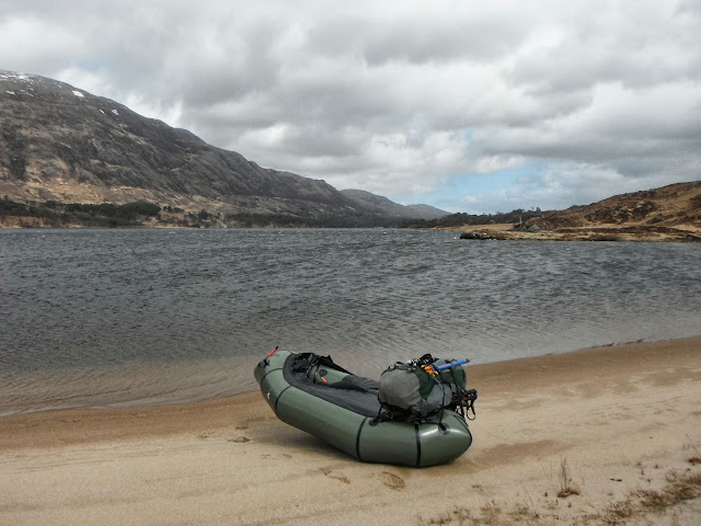 Packrafting in Scotland