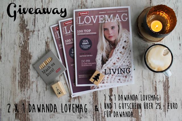 Giveaway Dawanda Lovemag