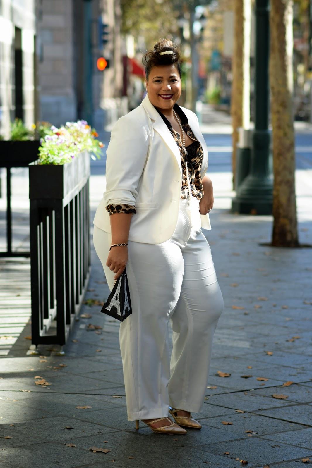Rihanna Style, Plus size celebrity look