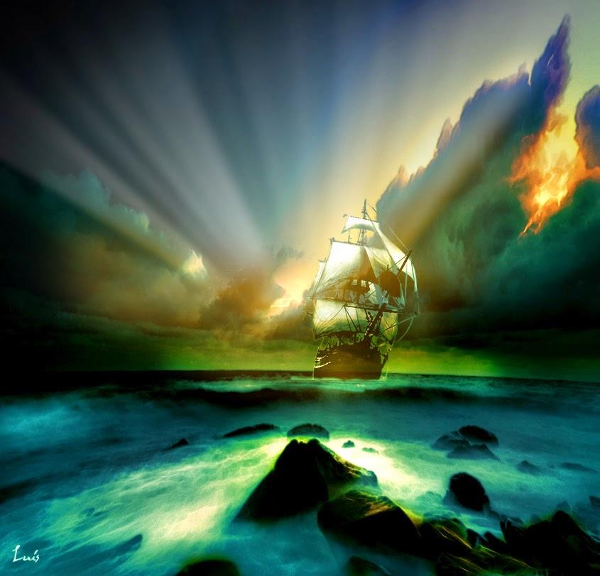 Aldebaran,el que viaja en velero sobre las nubes