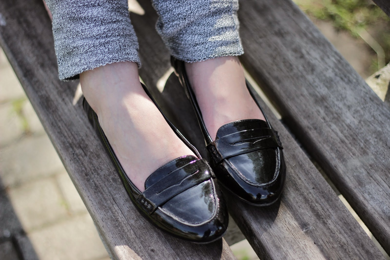 retro loafers h&m